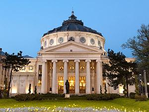 蜂療法とは関係ありませんが、ルーマニア首都ブカレストのルーマニア図書館