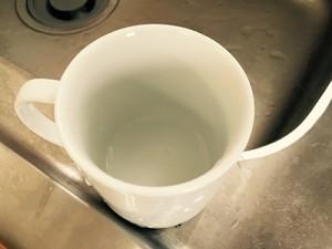 汚れが簡単に落ちるホットミルク