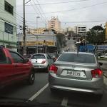 渋滞だらけのサンパウロ市内